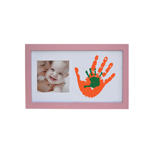 Baby Memory Prints Paint Wall-Pembe