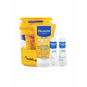Mustela Very High Protection Sun Lotion Spf 50+ 100 ml  (Hediyeli Set)