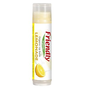 Friendly Organik Dudak Koruyucu Lip Balm-Limonlu