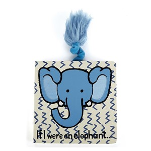 Jellycat Kitap Fil/If I Were an Elephant Board Book
