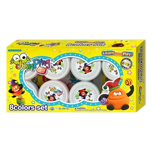 Jumping Clay 8 Colors Set (Container Type)