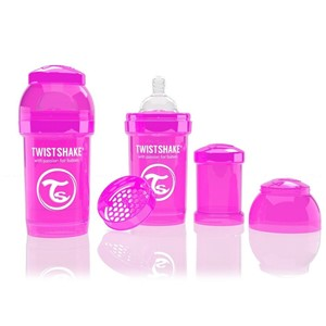 Twistshake Anticolic 180 ml Biberon Pembe