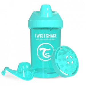 Twistshake KidCup Suluk 8 Ay+ 300 ml Turkuaz