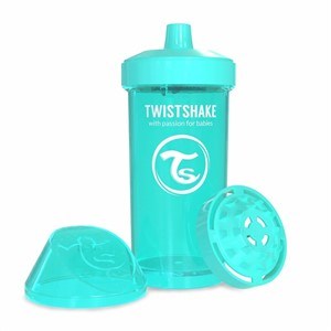 Twistshake KidCup Suluk 12 Ay+ 360 ml Turkuaz