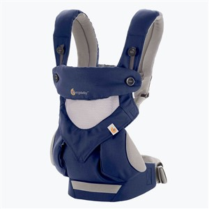 Ergo Baby 360 Carrier Kanguru Cool Air French Blue