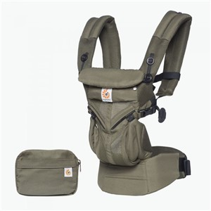 Ergo Baby Omni 360 Cool Air Kanguru Khaki Green