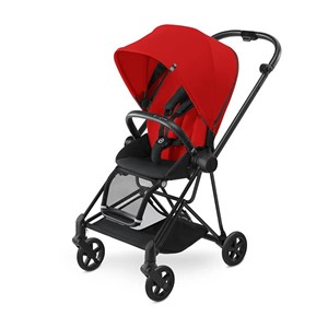 Cybex Mios Bebek Arabası - Matt Black - Infra Red