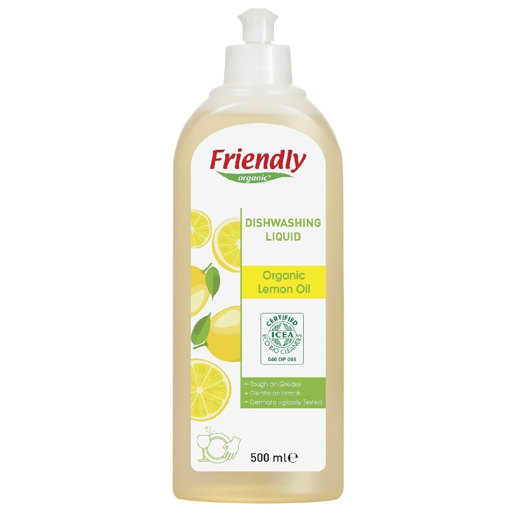 Friendly Bulaşık El Deterjanı - Limon 500 ml
