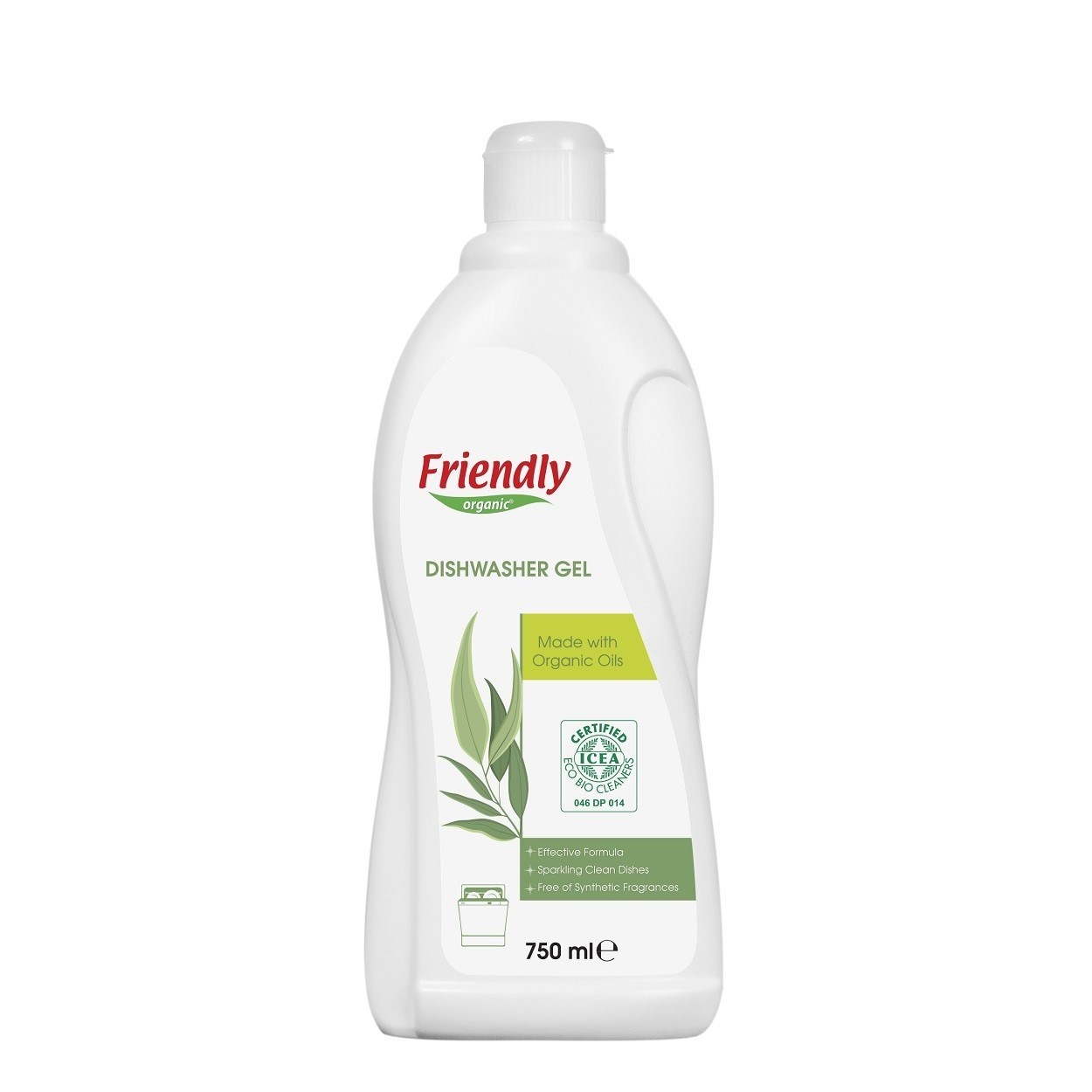 Friendly Bulaşık Makinesi Jel Deterjanı 750 ml