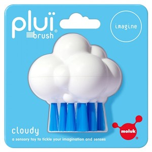 Moluk Design Plui Brush Cloudy White/Blue 3 Yaş+