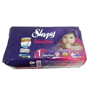 Sleepy Sensitive Newborn 1 Beden 2-5 Kg 40 Adet
