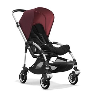 Bugaboo Bee5 Bebek Arabası Alu Black/ Red Melange