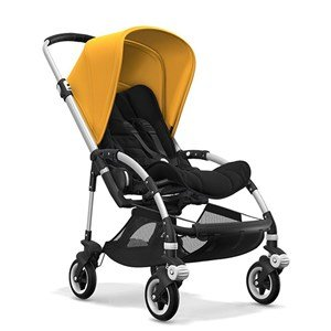 Bugaboo Bee5 Bebek Arabası Alu Black/ Sunrise Yellow
