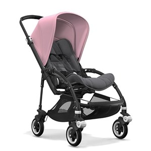 Bugaboo Bee5 Bebek Arabası Black/ Grey Melange - Soft Pink