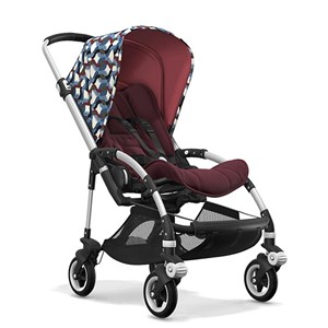 Bugaboo Bee5 Bebek Arabası Alu / Red Melange -Waves
