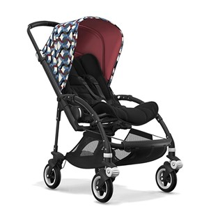 Bugaboo Bee5 Bebek Arabası Black Waves/Black