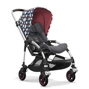 Bugaboo Bee5 Bebek Arabası Alu Waves/Grey Melange