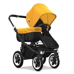 Bugaboo Donkey2 Mono Bebek Arabası Alu/Black - Sunrise Yellow