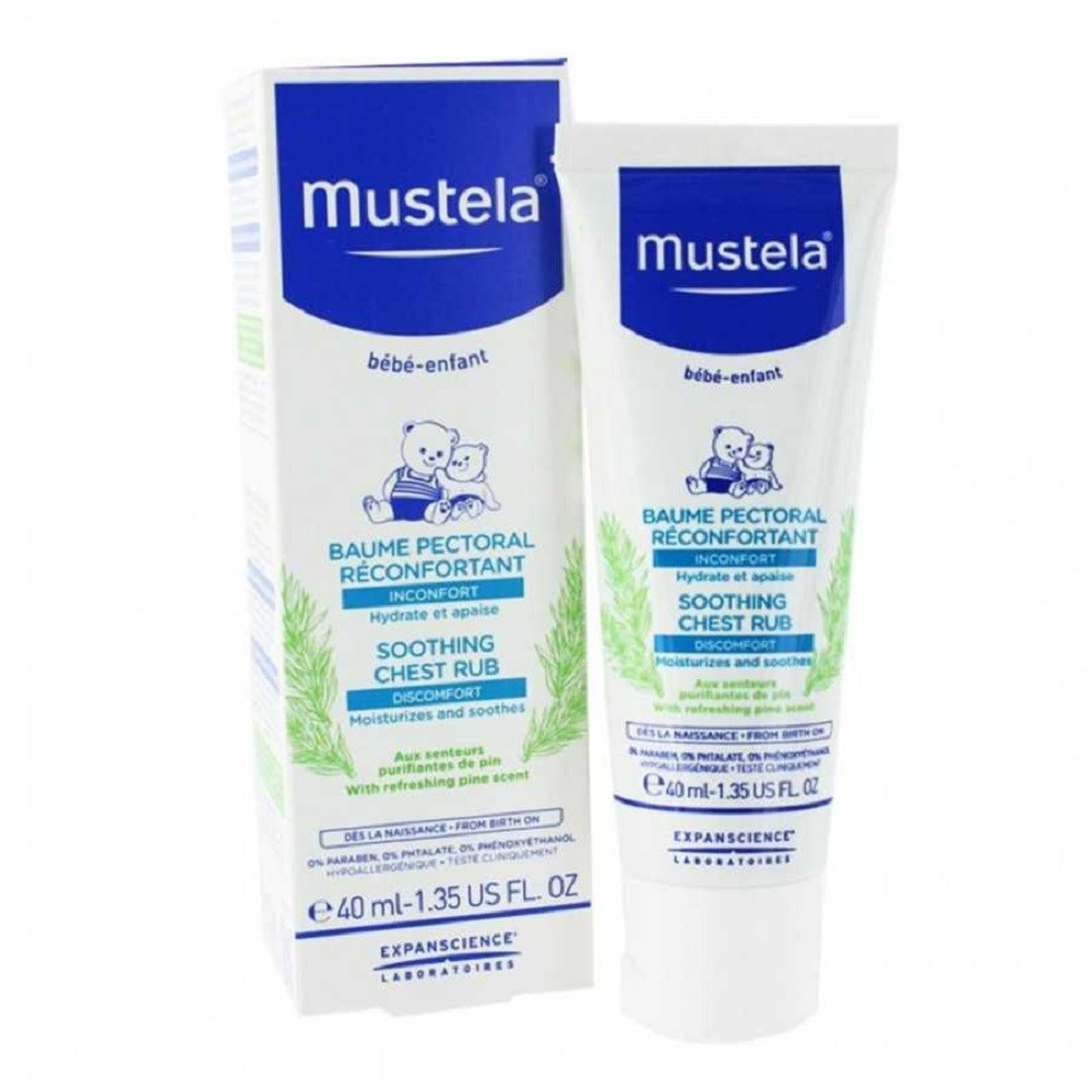 Mustela Soothing Chest Rub 40ml - Göğüs Balsamı