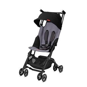 GB Pockit Plus+ Bebek Arabası Velvet Black Standart