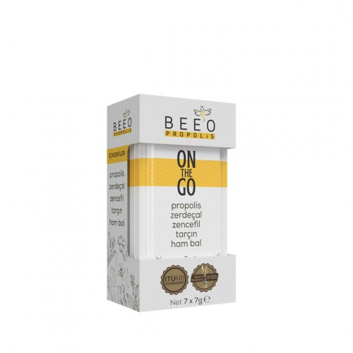 Bee'o On The Go Propolis Zerdeçal Zencefil Tarçın Ham Bal
