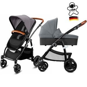 CBX Leotie Lux Bebek Arabası Carrycot Set - Comfy Grey