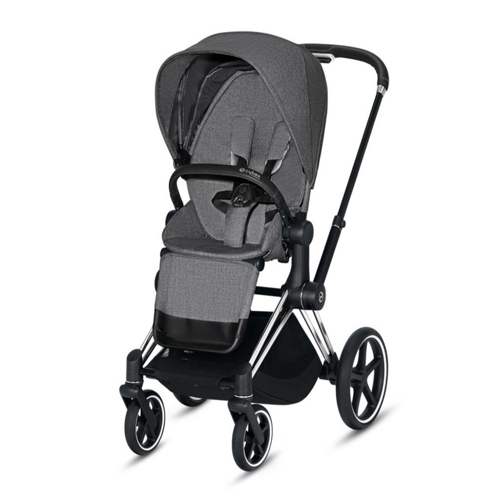 Cybex Priam Bebek Arabası Chrome - Grey Plus
