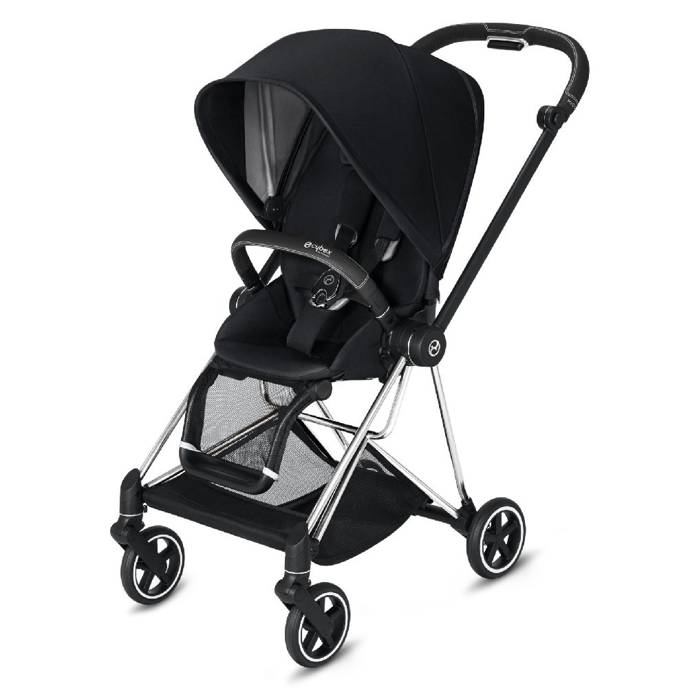 Cybex Mios Bebek Arabası Chrome - Black Plus