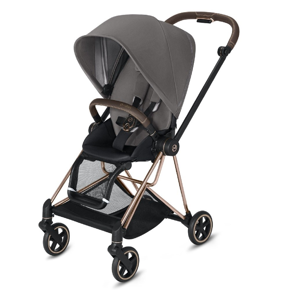 Cybex Mios Bebek Arabası Rose Gold - Grey Plus