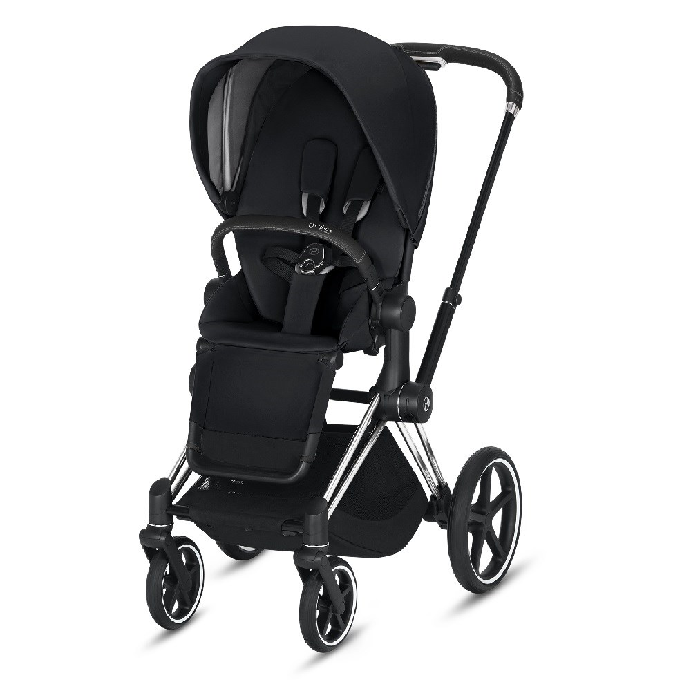 Cybex Priam Bebek Arabası Chrome - Black Plus