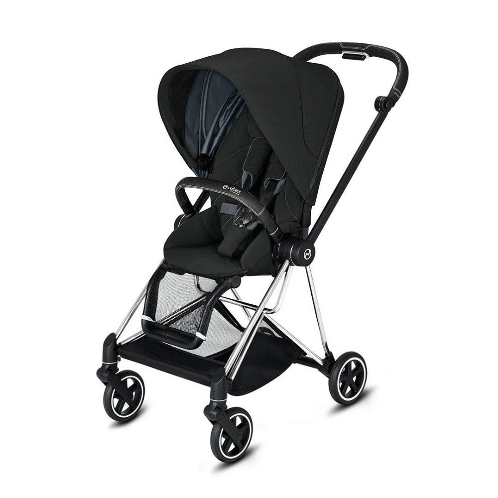 Cybex Mios Bebek Arabası Chrome - Deep Black