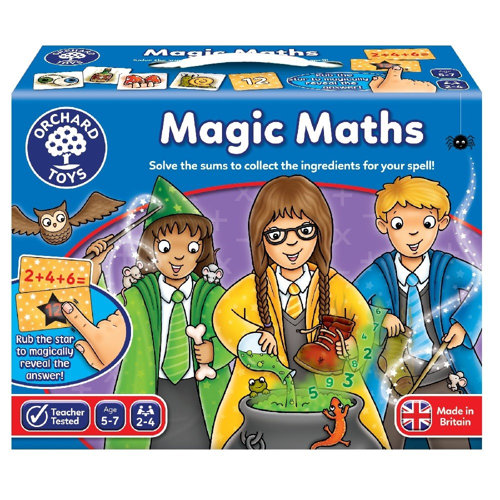 Orchard Magic Maths Game Eğitici Kutu Oyunu 5-7 Yaş +