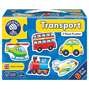 Orchard Transport Puzzle 18 Ay +