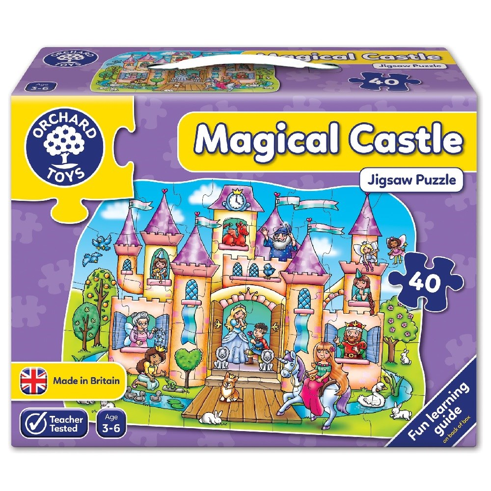 Orchard Magical Castle Puzzle 3-6 Yaş +