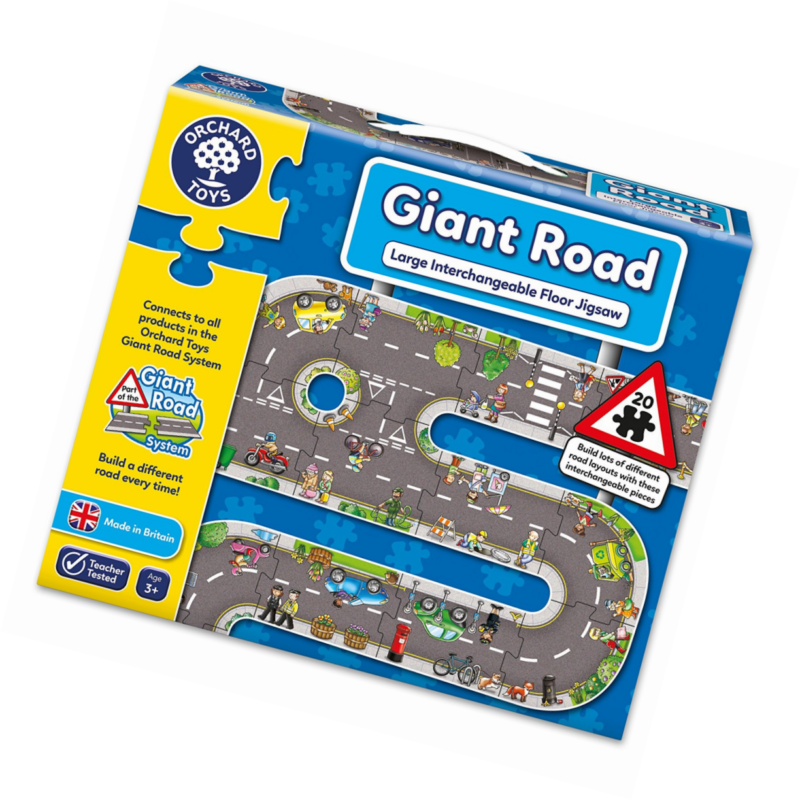 Orchard Giant Road Jigsaw Puzzle 3 Yaş +