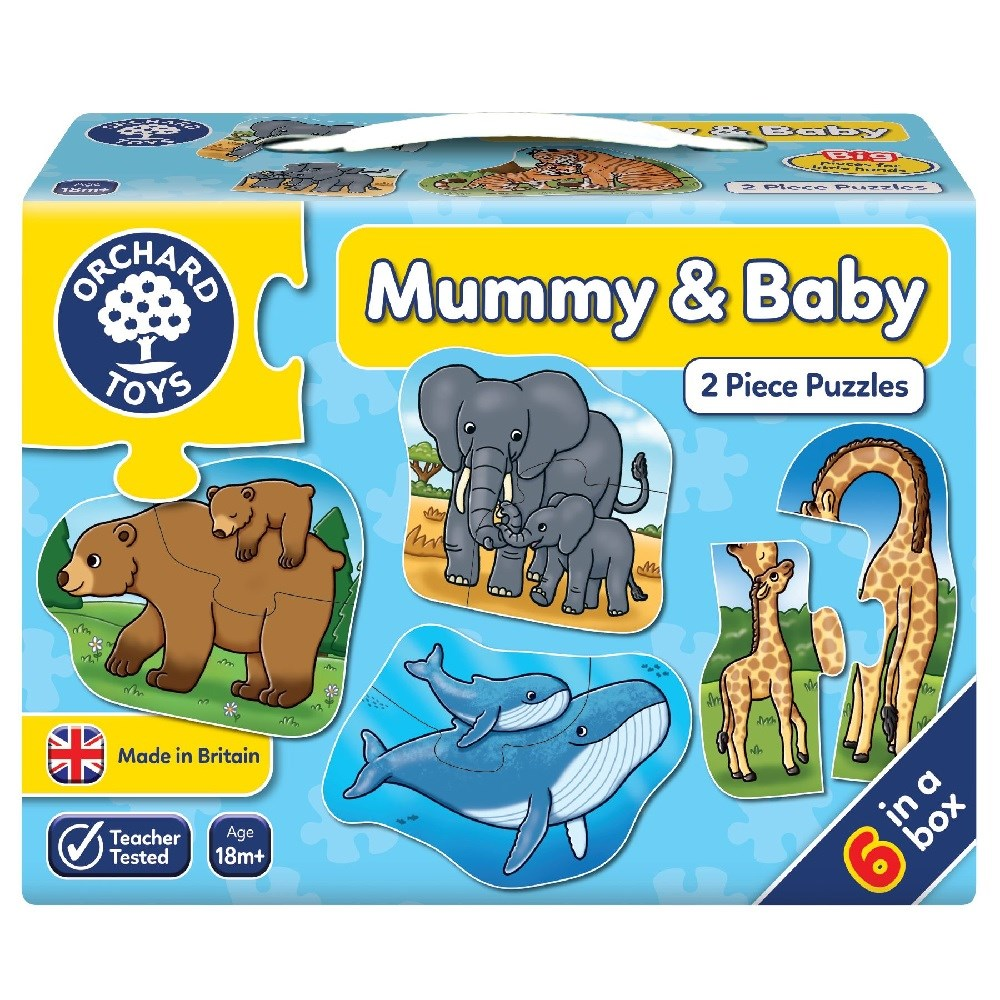 Orchard Mummy And Baby Puzzle 18 Ay +