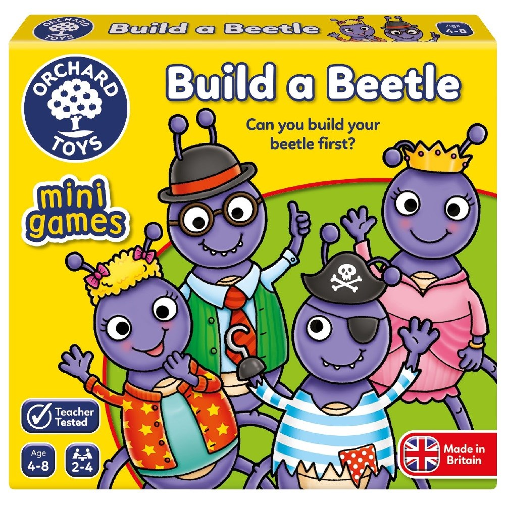 Orchard Build A Bettle Mini Eğitici Kutu Oyunu 3 Yaş +