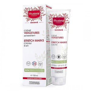 Mustela Stretch Marks Vergetures Cream 3 in 1 Çatlak Öncesi Krem 150 ml
